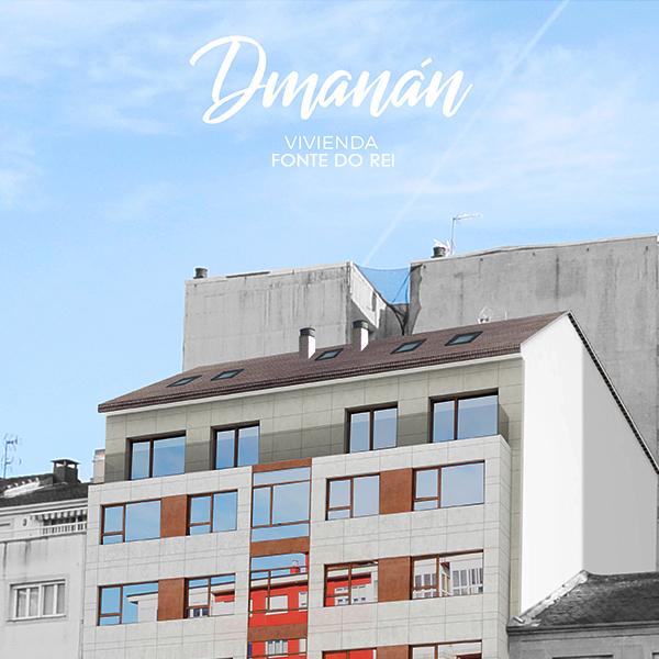 Aringal Dmanan Edificio Fonte do Rei fachada diseño industrial Zaton diseñadores Lugo Galicia