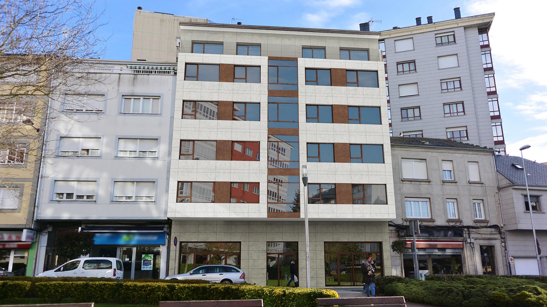 02_Aringal Dmanan Edificio Fonte do Rei fachada diseño industrial Zaton diseñadores