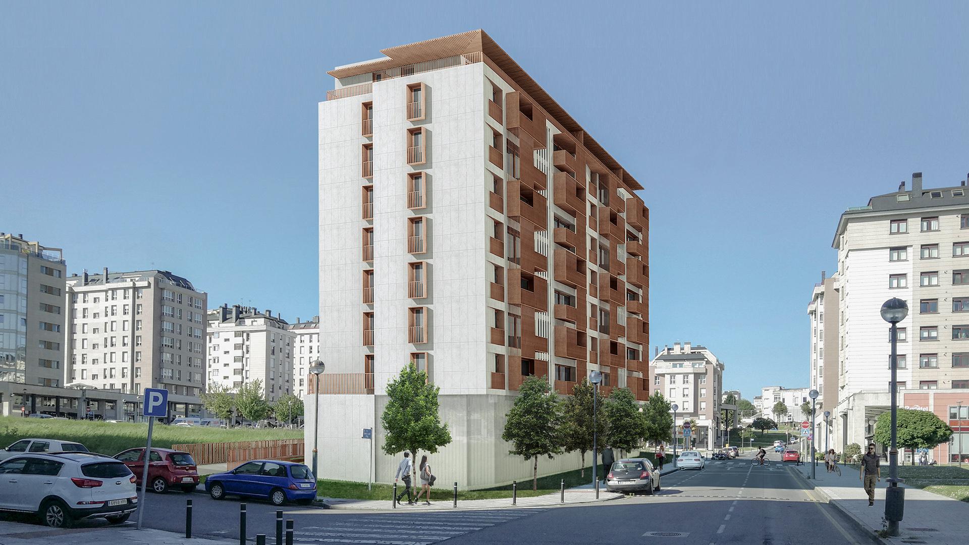 04_Fachada Dmanan Aringal Aguas Ferreas Interiorismo Edificación Zaton diseñadores Galicia