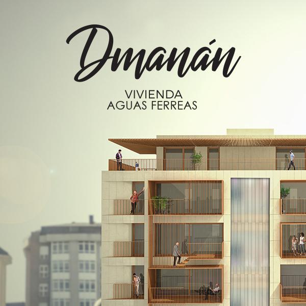 Portada Proyecto Dmanan Aringal Aguas Ferreas Interiorismo Edificación Zaton diseñadores Galicia